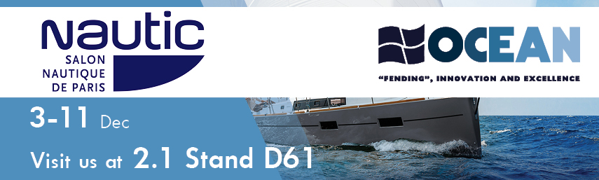 Ocean fenders news for Salon nautique amsterdam