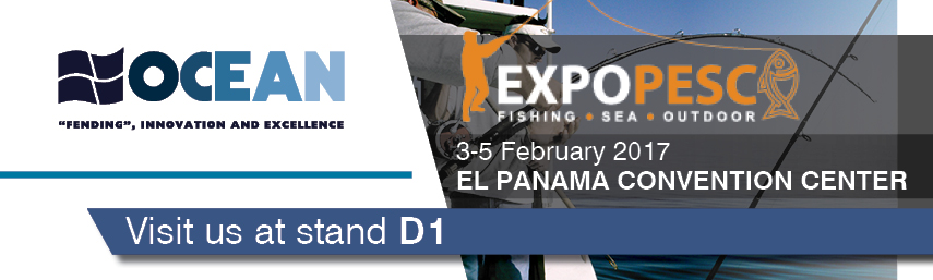 OCEAN FENDERS at PANAMA EXPO PESCA 2017