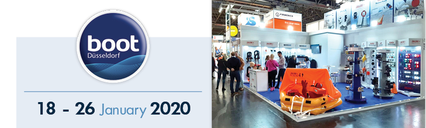 The redesigned double fender valve of OCEAN fenders caught visitors' attention at BOOT Düsseldorf 2020!