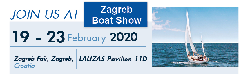 OCEAN is going to take part at Zagreb Boat Show 2020!